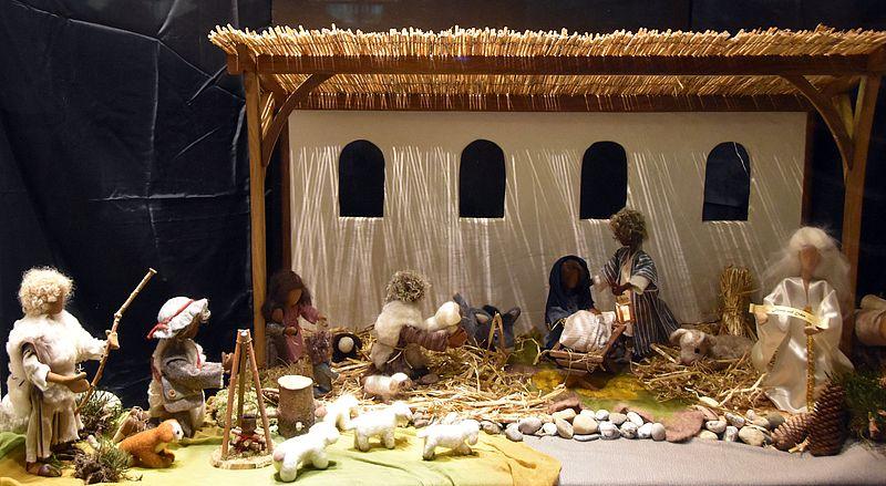 Kinder Der Kindertagesstätte Arche Noah Gestalten Krippe Für Den